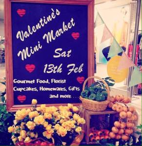 Bull Creek Shopping Centre Valentines Day Pop up market