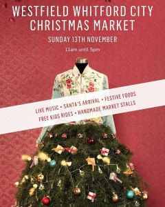 House of Nicnax will be attending the Whitfrd City Christmas market