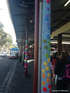 More Yarn Bombing at the Queen Victoria Market