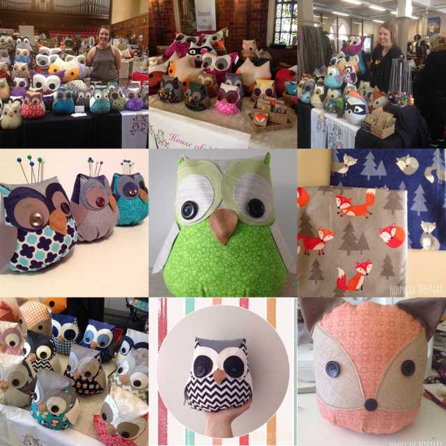 Instagram best 9 photos from House of Nicnax #owls #handmade #fox