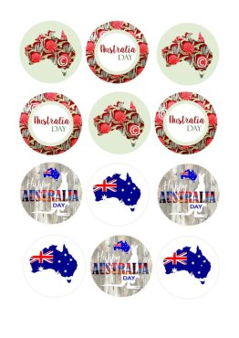 Australian made products for celebrating Australia Day. Featured on www.houseofnicnax.com.au