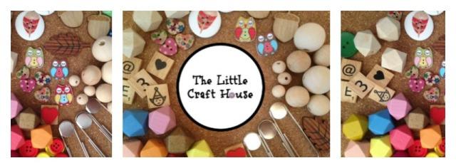 The Little Craft House. Craft Supplies in Australia. Wood beads, scrabble tiles, E6000 glue
