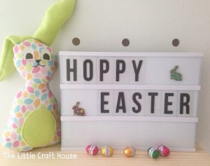 Hoppy Easter from House of Nicnax and the Little Craft House.