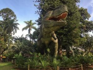 Dinosaurs! At Perth Zoo 2016